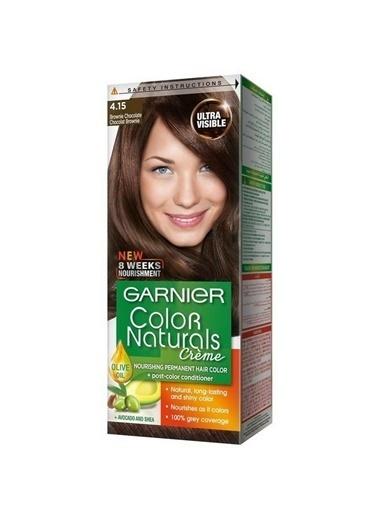 Garnier Garnıer Color Naturals Saç Boyası 4.15 Delist Kahve